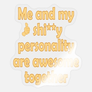 Personalized Personality - Sticker