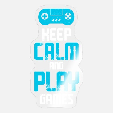 Video Games gaming for gamers or anyone who loves video games - Sticker