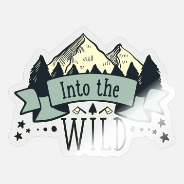 Adventures The Wild Forest, Animals - Sticker