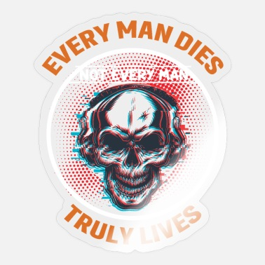 William Wallace Every Man Truly Lives William Wallace Scotland - Sticker