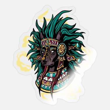 South American Xolotl Dog Pre Hispanic cool south american dog - Sticker
