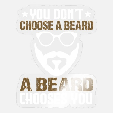 Barber Gift for Beard Bearer and Barber - Sticker