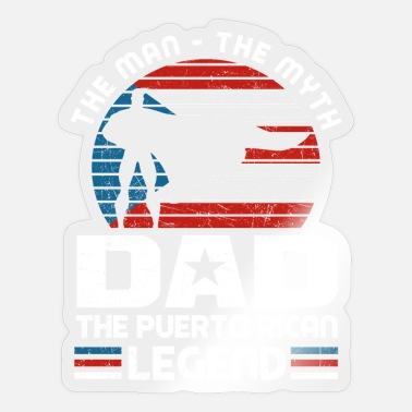 Puerto Rico Puerto Rican Papa Father's Day Gift - Sticker