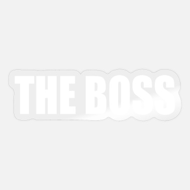 Boss the boss - Sticker