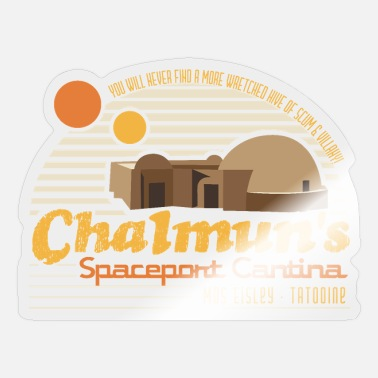 Wretch Chalmun's Spaceport Cantina - Sticker