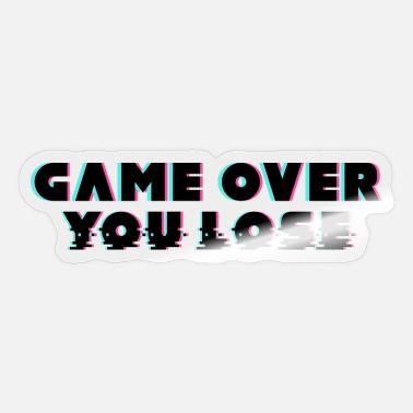 Overland Park Game Over - Sticker