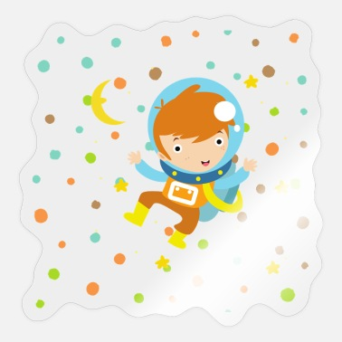 Spacemonster Little space astronaut - Sticker