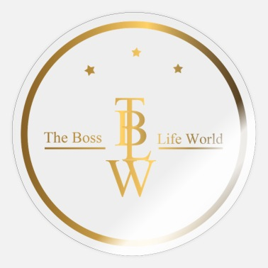 Boss The Boss Life World Gambia Brand - Sticker