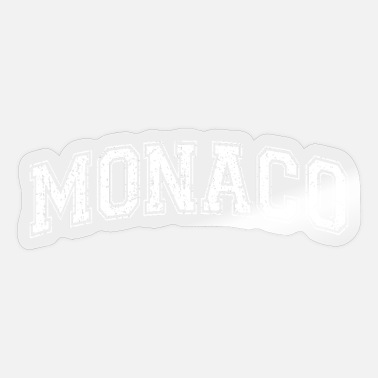 City-state Monaco City State Country in Europe - Sticker