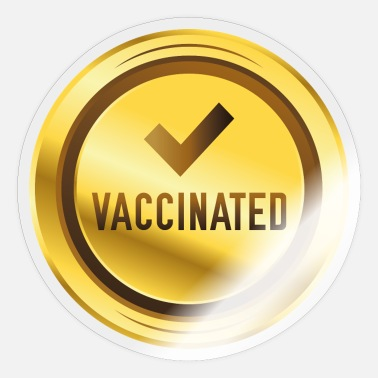 Social Vaccinated - Sticker