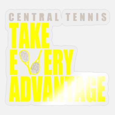 Central America Central Tennis - Sticker