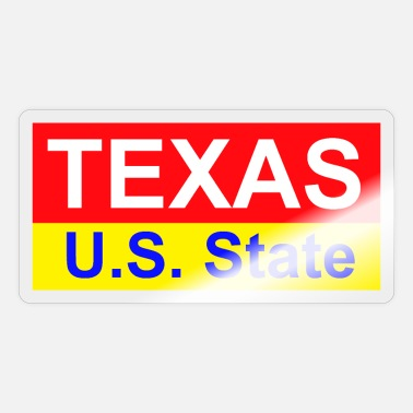 Us State Texas - US State - Sticker