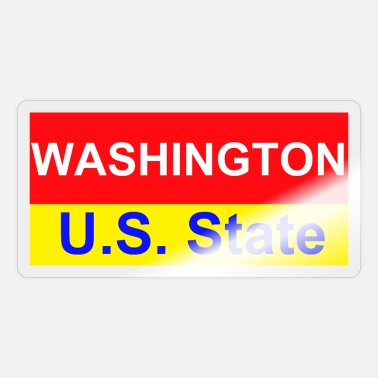 Us State Washington D.C. - US State - Sticker