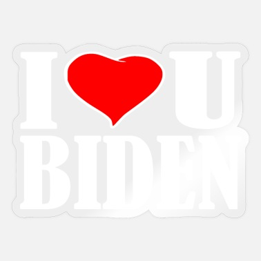 Joe Biden I love biden - Sticker
