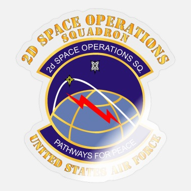 2d USAF 2d Space Operations Squadron - Sticker