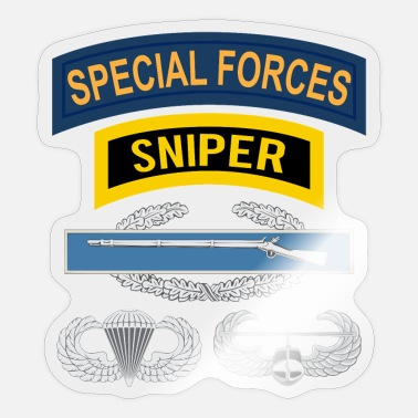 Sniper Tab SF Sniper CIB Airborne Air Assault - Sticker