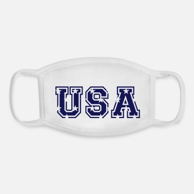 Usa USA USA - Youth Face Mask
