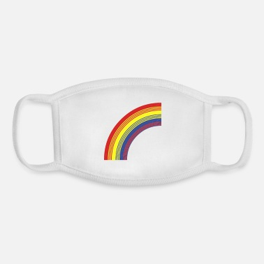 Irony rainbow - Youth Face Mask