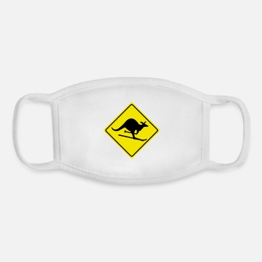 Miscellaneous roadsign kangaroo - Youth Face Mask