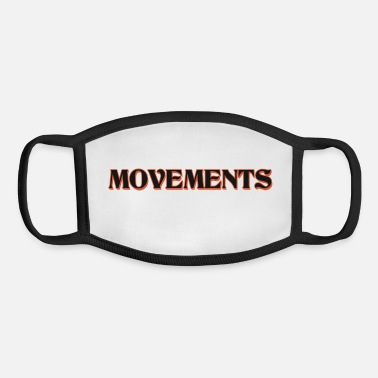 Movement movements - Youth Face Mask