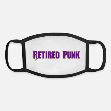 Retired Punk 001 - Youth Face Mask