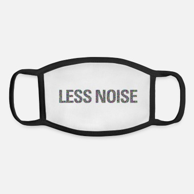 Noise less noise - Youth Face Mask