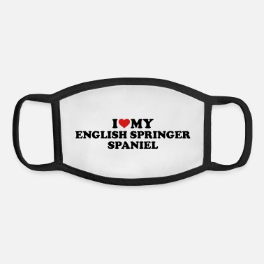 English Springer Spaniel English Springer Spaniel - Youth Face Mask