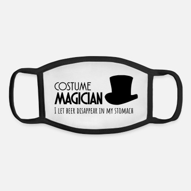 Costume costume magician - Youth Face Mask