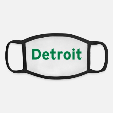 Detroit Detroit - Youth Face Mask