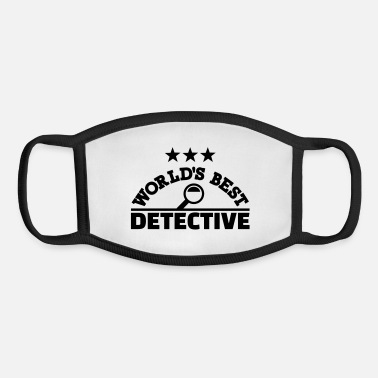 Detective Detective - Youth Face Mask