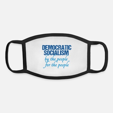 Democrat Democratic Socialism - Youth Face Mask