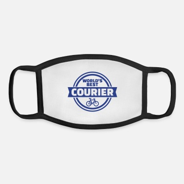 Courier Bike courier - Youth Face Mask