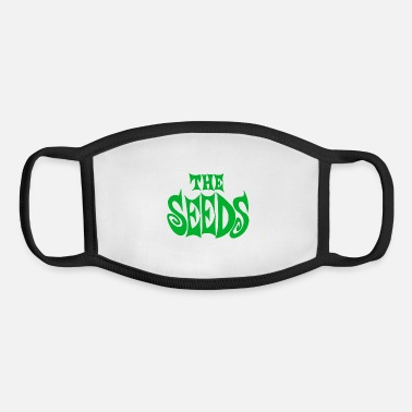 the seeds band logo - Youth Face Mask