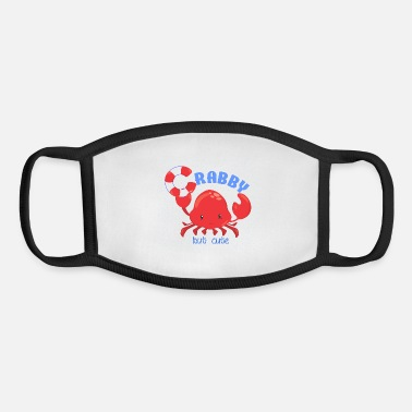 Cute Crabby but Cute - Youth Face Mask