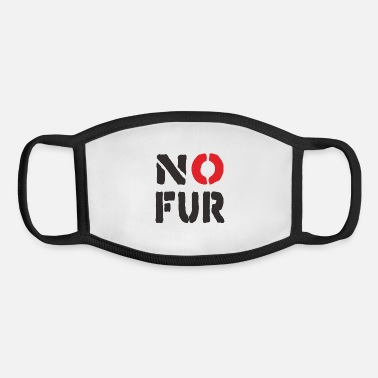 Fur No Fur - Youth Face Mask