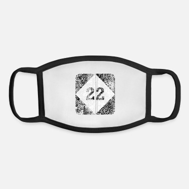 Tee 22 Tee - Youth Face Mask
