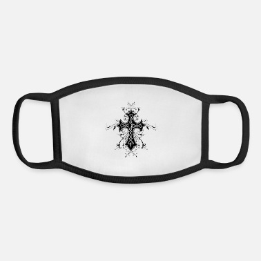 Religious heraldry, cross, religious, religion - Youth Face Mask