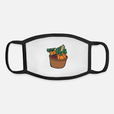 Basket Vegetable basket - Youth Face Mask