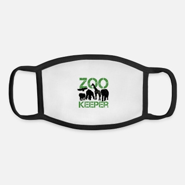 Zoo zoo keeper - Youth Face Mask