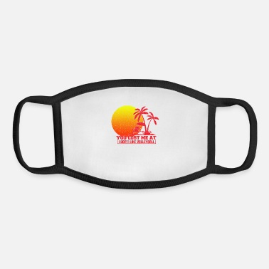 Beach Volleyball Beach volleyball - Youth Face Mask