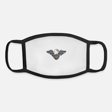 usa eagle ok - Youth Face Mask