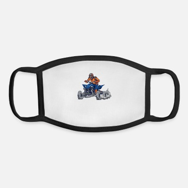 Cool Quad Biker - Youth Face Mask