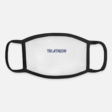Triathlon Sports Triathlons Athlete Triathlon Triathloner - Youth Face Mask