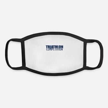 Triathlon Athlete Triathlon Sports Triathlons Triathloner - Youth Face Mask
