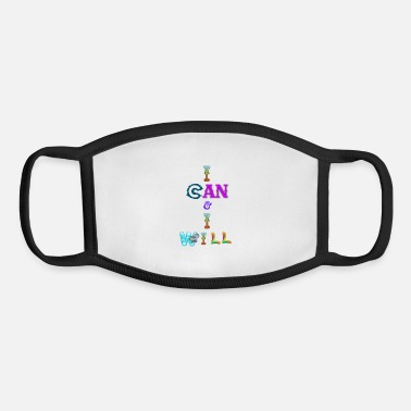 I can and I will - Youth Face Mask