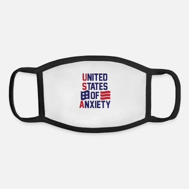 United States Of Anxiety - Youth Face Mask