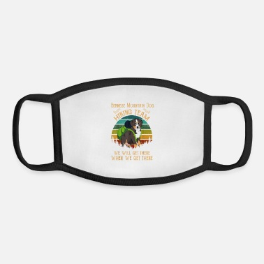 Dog Breed Bernese Mountain Dog Hiking Team We Will Get There - Youth Face Mask