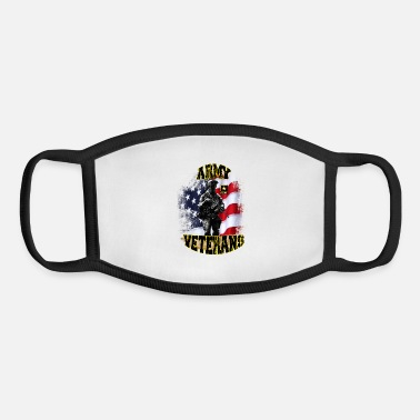 Army Reserve ARMY Veterans - Youth Face Mask