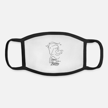 Baby Bib Born to ride - Youth Face Mask