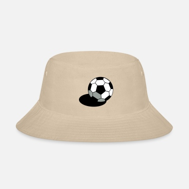 Inflated Oval SOCCER FOOTBALL BALL WITH A SHADOW - Bucket Hat